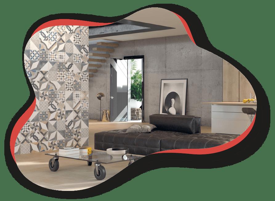Magasin de carrelage mural à Nyons